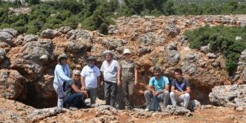 Karyağdı Mağarasında arkeolojik kazı