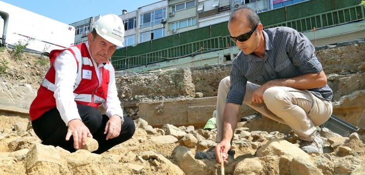Başkan Topbaş'tan Beşiktaş arkeoloj kazıları için özel rica