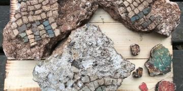 Giresun Adasında ilk kez fresk parçaları bulundu