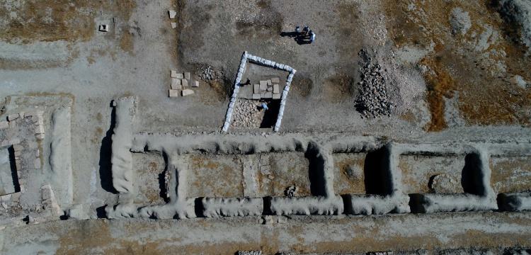 Urartular Çavuştepe Kalesi'nde haşeresavar sıva kullanmış