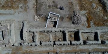 Urartular Çavuştepe Kalesinde haşeresavar sıva kullanmış