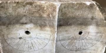 Yakalanan antik güneş saati müzede sergilenecek