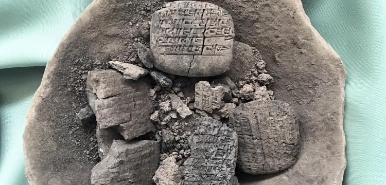 Bu tabletler Anadolu'nun ilk yazılı belgeleri