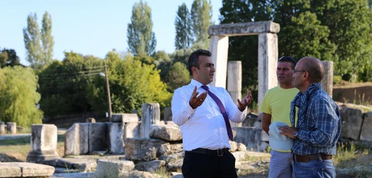 Yatağan Kaymakamı Lagina arkeoloji kazılarını teftiş etti
