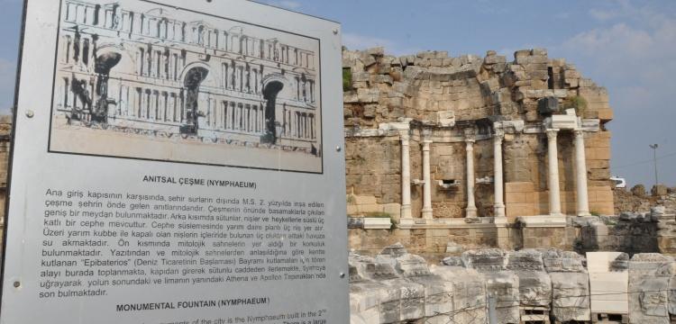 Side'nin anıtsal çeşmesi restore edilecek
