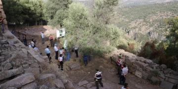 Aigai Antik Kenti 2017 arkeoloji kazıları sona erdi
