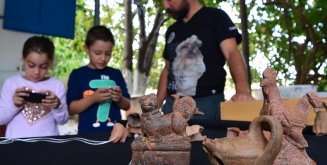Bigada 2 bin yıllık oyuncaklar bulundu