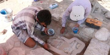 Tripolis arkeoloji kazılarında zeytinyağı atölyesi bulundu
