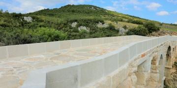Kocaelide 2 bin yıllık tarihi Taşköprü restore edildi