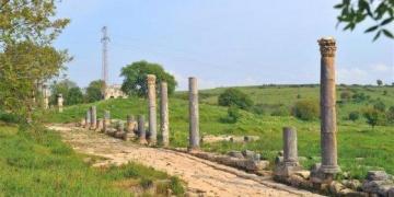 Epiphaneianın mozaikle Kaplı Sütunlu Caddesi açılıyor