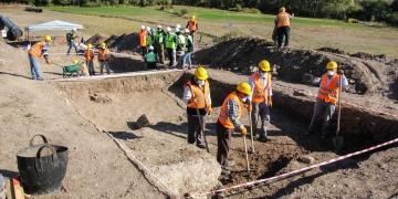 Kütahyada TANAP boru hattı inşaatında antik mezarlar bulundu