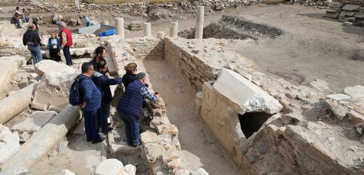 Stratonikeia Antik Kenti'nin ziyaretçileri artıyor
