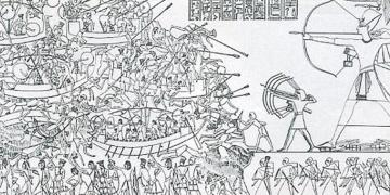 Afyonkarahisarda bulunan yazıt Anadolu deniz kavimlerini anlatıyor