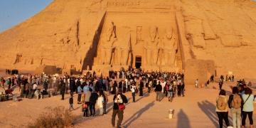 II. Ramsese güneş vurmasına ilgi büyük oldu