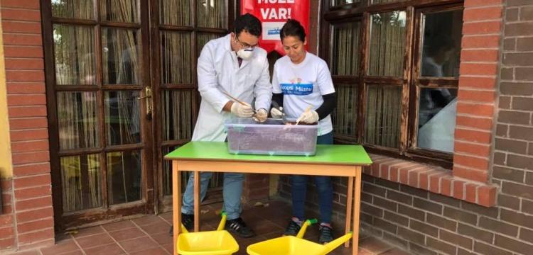 Gezici Bavul Müze Kocaeli okullarını gezmeyi sürdürüyor