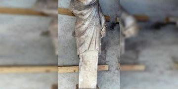 Side arkeoloji kazılarında Yaşlılar Meclisi Başkanının heykeli bulundu