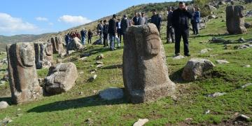 Arkeologlar Yesemekte incelemeler yaptı