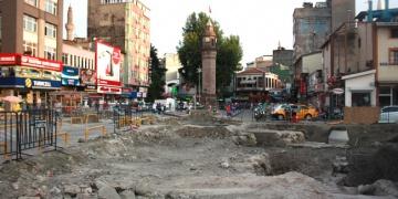 Anıtlar Kurulu, Samsun Saathane Meydanını araç trafiğine açtı