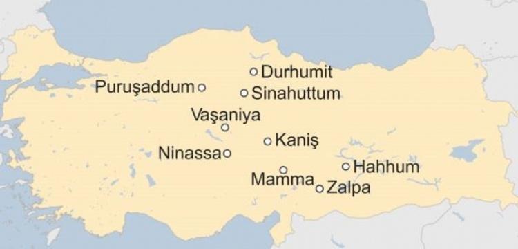 Asur Tabletlerindeki antik Anadolu kentlerinin 'manidar' haritası!
