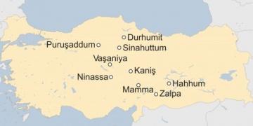 Asur Tabletlerindeki antik Anadolu kentlerinin manidar haritası!