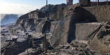 Yangın Peruda arkeolojik alana büyük zarar verdi