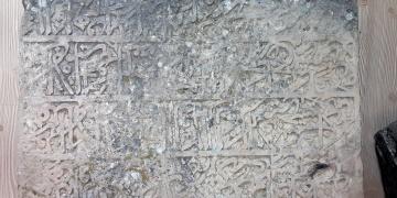 Tuncelide 20 yıldır aranan kayıp kitabe tesadüfen bulundu