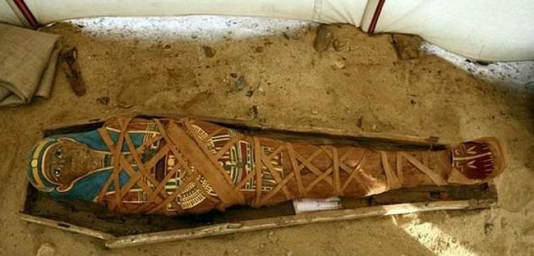 Mısır'da Greko-Roman stil mumya bulundu