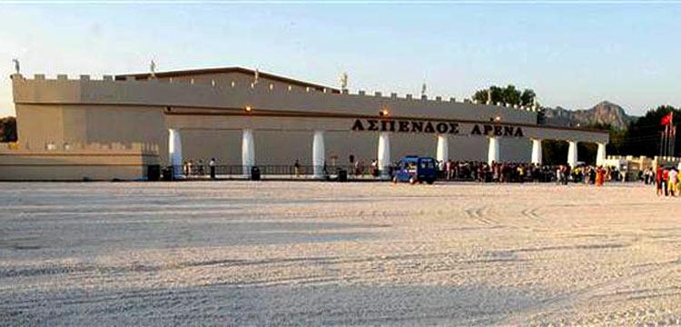 Aspendos Arena için 'yıkım' kararı çıktı