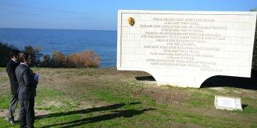 Atatürkün Anzak sözleri kitabesi restore edildi