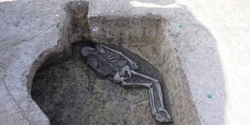 Slovakyada sıradışı bir şaman mezarı bulundu