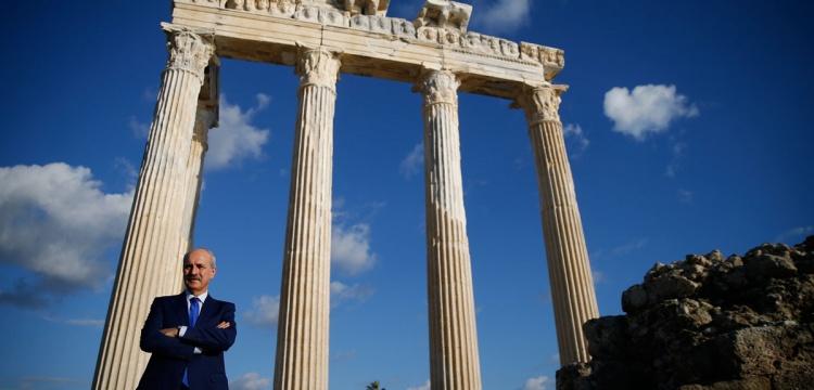 Kültür ve Turizm Bakanı Kurtulmuş, Antalya'da