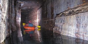 Montrealin altında buz çağından kalma mağara bulundu