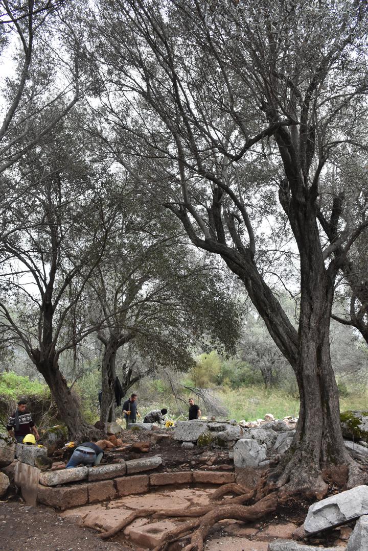 Sedir Adası Kedrai antik kentinde arkeoloji kazı çalışmaları