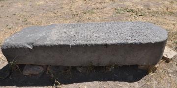 120 yıl önce kaybedilen Urartu steli bulundu