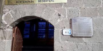 Erzurumun tarihi mekanları karekod ile tanıtılıyor