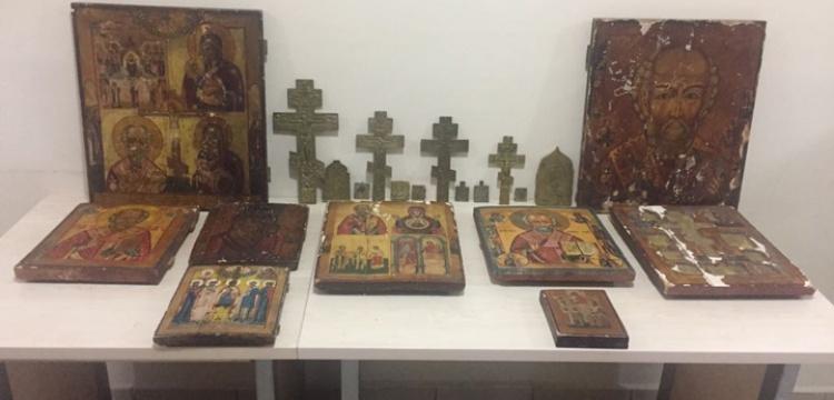 Trabzon'daki kiliseden çalınan tarihi eserler Adıyaman'da yakalandı