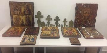 Trabzondaki kiliseden çalınan tarihi eserler Adıyamanda yakalandı