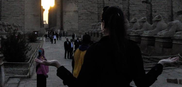 Mısır'daki üç tapınağa kış güneşi vurdu