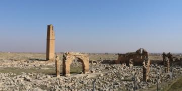 Harrandaki tarihi yapılar restore ediliyor