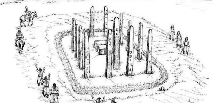 Moğolistan'da bir Yabgu'ya ait anıt mezar bulundu