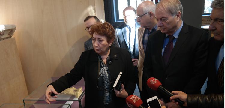 Kültür varlıkları komisyonu İstanbul Arkeoloji Müzesi'ndeydi