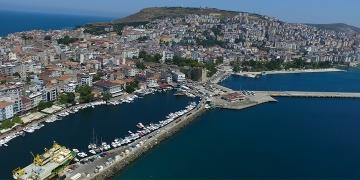 Sinoptaki eski arkeolojik SİT alanı dalış merkezi olacak