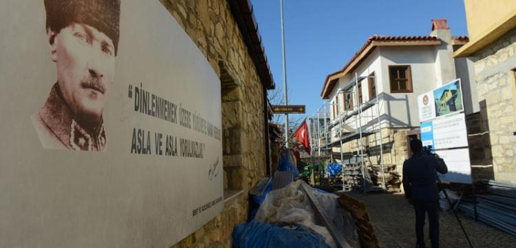 Çanakkale Atatürk Evi Restore ediliyor