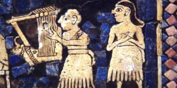 5 bin yıllık Sümer Müzik aleti yeniden yapıldı