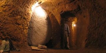 Trabzonda 4 bin yıllık yeraltı şehri keşfedildi
