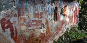 Sümela Manastırında gizli kalmış şapel bulundu