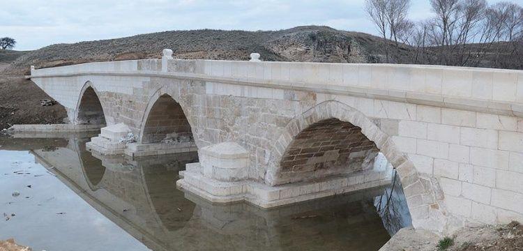 Yozgat'taki Yavuz emaneti 500 yıllık Karabıyık köprüsü restore edildi