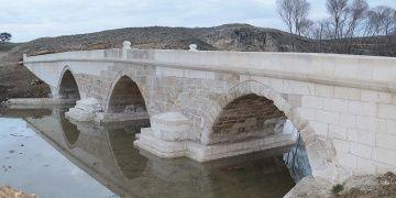Yozgattaki Yavuz emaneti 500 yıllık Karabıyık köprüsü restore edildi