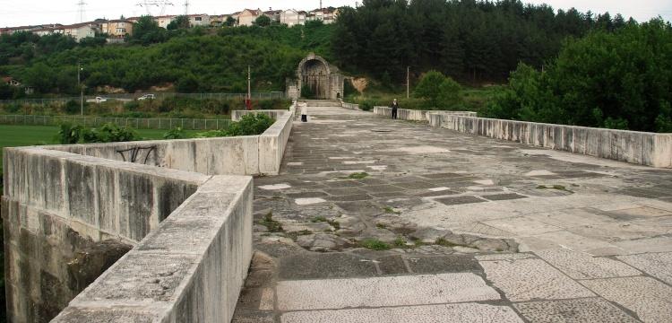 Justinianus Köprüsü restorasyon projesi başladı