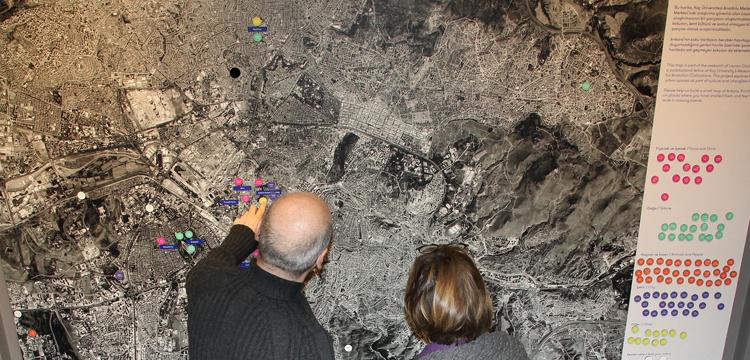 Koku ve Şehir sergisi, Erimtan Arkeoloji ve Sanat Müzesi'nde
